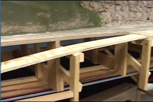 An Example of Traditional Benchwork from Model Railroader Magazine