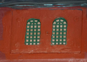 Painted Window Castings