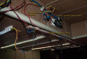 Light Controller and Bus Bar