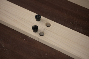 Installing McMaster-Carr alignment pins & liners