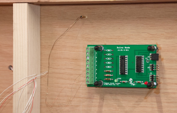 Duino Node controlling Station Signal