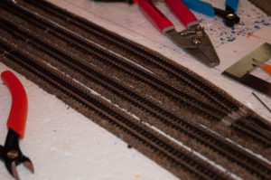 Track Laid and Ready for Painting and Ballast.