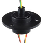 A Slip Ring. The shaft on the top rotates.